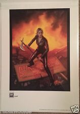 Buffy the Vampire Slayer Limited Edition Giclee Art Print LE 13 of 125