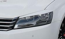 RDX faros cegar VW Passat 3c b7 malvado mirada ABS cegar alerón