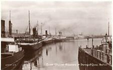 Cross Channel Steamers Donegall Quay Belfast RP pc used Valentines