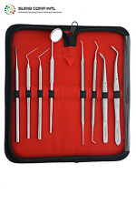 Surgical & Dental Instruments 8 Pcs Professional Kit ,Medical ENT Veterianrary