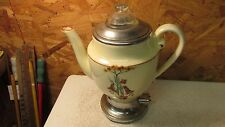 Early Royal Rochester Porcelain Coffee Pot