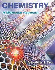 New Chemistry Titles from Niva Tro: Chemistry : A Molecular Approach Plus...