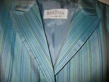 "Pure Silk Baronia ""Retro"" Short sleeve Jacket in size 12 on trend"