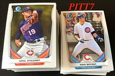 2014 BOWMAN CHROME DRAFT TOP PROSPECT COMPLETE SET CARD # TP-1 - TP-90 BRYANT