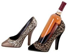 NEW! Women's High Heel Shoe Wine Bottle Holder Home Decor Decoration Gift Her