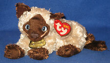 TY NERMAL the CAT BEANIE BABY - MINT (GARFIELD MOVIE) - MINT with MINT TAGS