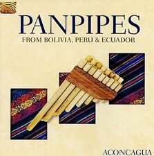 Panpipes from Bolivia, Peru & Ecuador, New Music