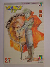 Drunken Fist Tony Wong Roger Salick Alan Wan #27 Jademan Comics October 1990 NM