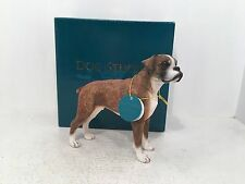 Dog Studies by Leonardo Figurine Boxer Ornament *BRAND NEW BOXED*