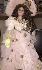 THE EMERALD DOLL PORCELAIN COLLECTION -Polly Victorian Dress - 22 inches