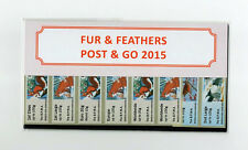 BPMA FUR + FEATHERS PRESENTATION PACK TYPE 3 SEALED BDGB15 DECEMBER 2015 Post Go