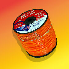 3 Lb Spool Commercial Diamond Cut Weedeater Trimmer Line # 0.095