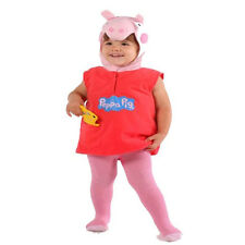 Childs Toddlers Girls Official Licensed Peppa Pig Fancy Dress Party Costume