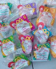 Lot of 12 Sealed McDonald's Happy Meal Toys DISNEY VIDEO FAVORITES 1998