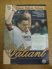 29/10/1995 Port Vale v Birmingham City  (Light Marks). Trusted sellers on ebay b