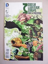 GREEN LANTERN CORPS : EDGE OF OBLIVION ISSUE # 1.  MARCH 2016.  DC COMICS