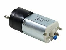 NEW 20GN steel 150:1 gear DC motor,60rpm 12V 3mm Dia. RS 398-9669 PN 20G-12-150