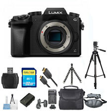 Panasonic Lumix DMC-G7 BODY Digital Camera PRO BUNDLE NEW!