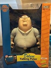 "FAMILY GUY DELUXE TALKING PETER GRIFFIN 18"" TOY DOLL FIGURE MEZCO NIB SEALED"