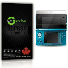 CitiGeeks® Nintendo 3DS Screen Protector Crystal Clear HD Skin Guard [2-Pack]