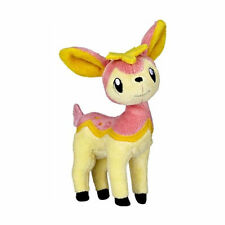 JAKKS PACIFIC POKEMON BLACK & WHITE DEERLING PLUSH DOLL FIGURE 13 CM NEW NUOVO