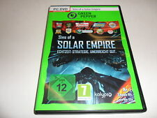 PC  Sins of a Solar Empire Game of the year edtion (Green Pepper) USK-Einstufung
