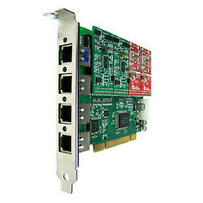 Openvox A400P22 4 Port analog PCI card, 2 FXO / 2 FXS VoIP Asterisk PBX