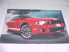 """Ford Mustang Shelby GT500 """"550 Hp no Antidote""""  poster"""