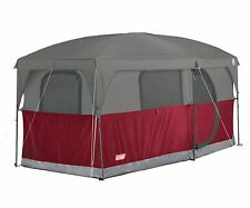 NEW! COLEMAN Hampton 6 Person Family Camping Cabin Tent w/ WeatherTec | 13'