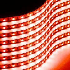 Zone Tech 8x Red Flexible Waterproof 13cm 15 LED Light Motorcycle Car Strips