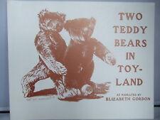 Two Teddy Bears in Toyland - 1907 Facsimile - Elizabeth M Gordon - Photographs