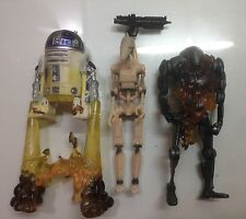 Star Wars : R2D2 Super Battle Droid and Battle Droid