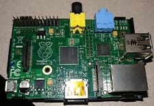Lot of 5 Used Raspberry Pi 1 model B revision 2 with Cases