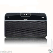 Wireless Bluetooth 4.0 Car Kit Clip Hands Free Multipoint Speakerphone Speaker