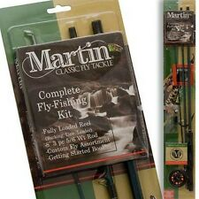 Martin 8ft. Fly Fishing Rod, Reel. Line, Complete Kit MARMRT56TK