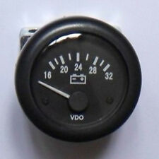 "Car Auto Motor Boat 24V Voltmeter 2 1/16 Inch 2""/52mm Voltage Volt Meter Gauge"