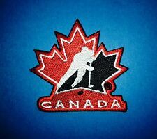 Team Canada Olympic World Junior WJHC Hockey Iron On Hat Jacket Patch Crest D