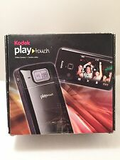 "Kodak PlayTouch Zi10 Video Camera 3"" 128 MB HDD Touchscreen Display 1080p Black"