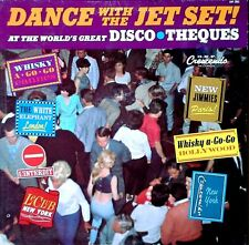 DANCE WITH THE JET SET - GNP CRESCENDO - V.A. LP - GOOD GUYS, RHYTHM KINGS
