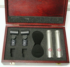 Neumann KM184 ni Stereo Set  - Microphones w. consecutive S#'s *New & warranty