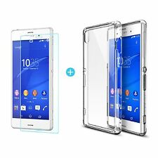 Ultra slim transparent clair rigide plastique dur case cover pour Sony Xperia Z3