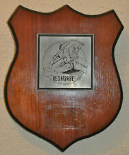 Red Horse 819 CES / HR shield plaque crest United States Air Force Engineers