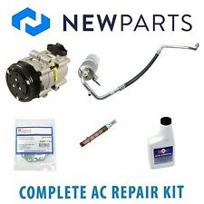 Ford F-150 1997-1998 4.2L Complete A/C Repair Kit With NEW Compressor & Clutch