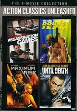 Action Classics Unleashed: Assassination Games/Double (2013, DVD NEUF)2 DISC SET