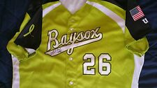 hyun soo kim signed game used bowie baysox jersey