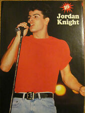 New Kids on the Block, Jordan Knight, Guys Next Door, Double Full Page Pinup