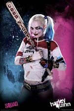 SUICIDE SQUAD HARLEY QUINN BAT POSTER (61x91cm)  NEW WALL ART