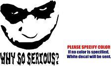 """The Joker #7 Decal Sticker JDM Funny Vinyl Car Window Bumper Wall Tablet 6"""""""