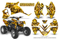POLARIS OUTLAW 90 GRAPHICS KIT CREATORX DECALS STICKERS INFERNO Y
