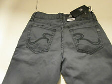 36 X 34 ROCK & REPUBLIC STRAIGHT LEG NEIL JEANS -STEEL- NWT